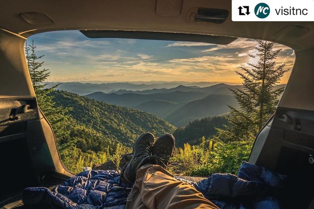 #Repost @visitnc  ・・・ Wherever you are this weekend, kick back, relax, and enjoy the beauty that surrounds you. 💛  📷: @j.michaud.photography · · · · #visitnc #northcarolina #northcarolinaoutdoors #ncmountains #travel
