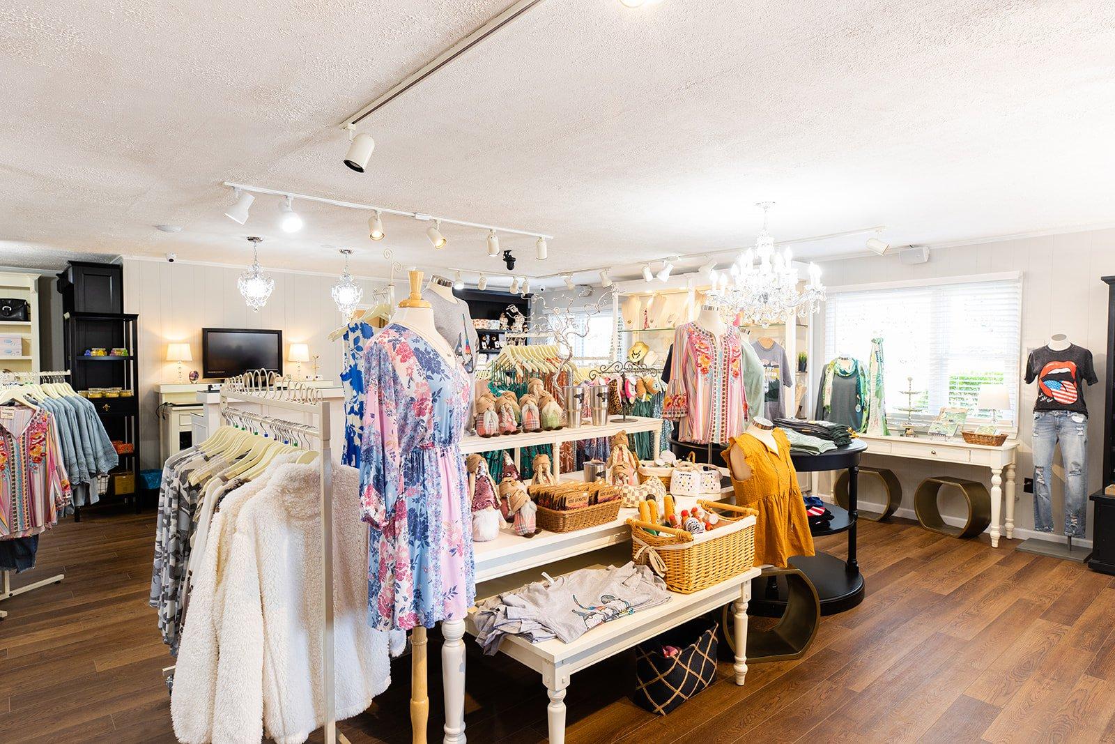 Spruced Boutique interior