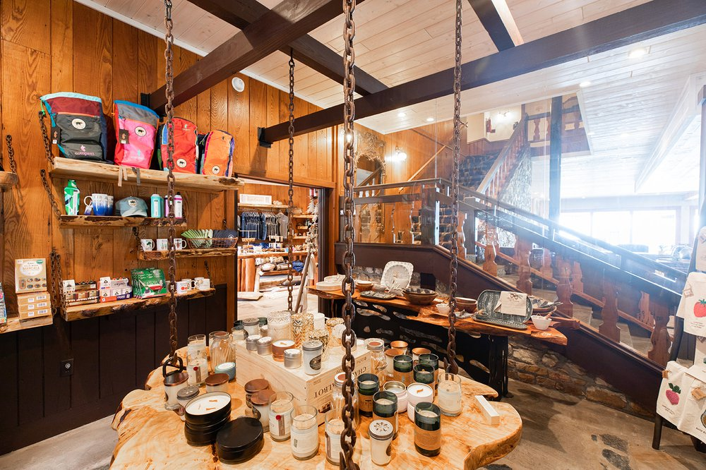Little Switzerland Trading Co. interior