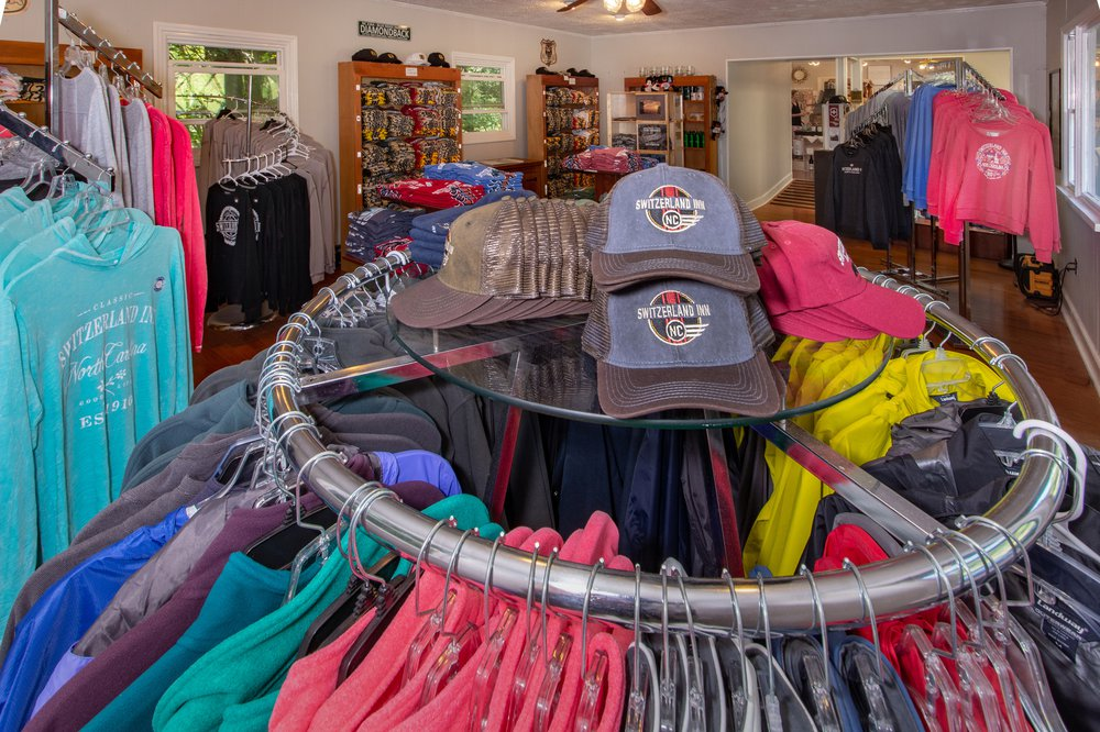 Clothing Rack with Hats