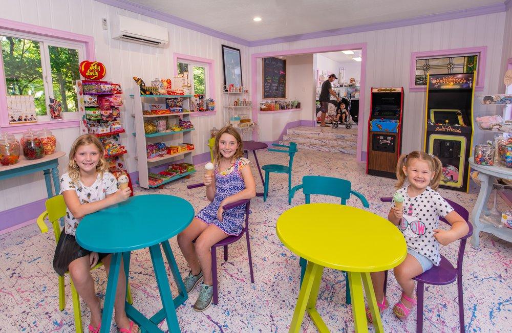 Children in the Shoppe